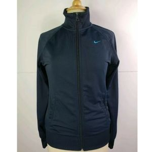 Nike Womens Long Sleeve Zip Jacket. Size Small Exc